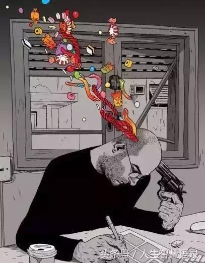 看完这30张漫画,我开始重新思考人生