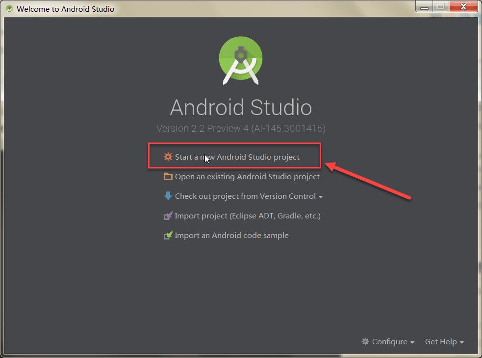 Android Studio2.0 教程从入门到精通Windows版 - 入门篇