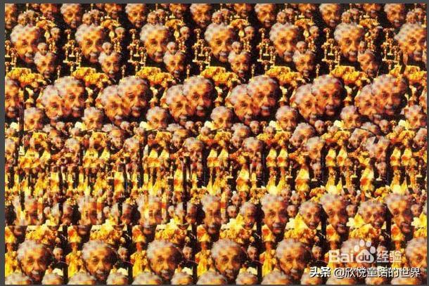 三维立体图片,看出来真的很震撼。你能全部看出来吗?