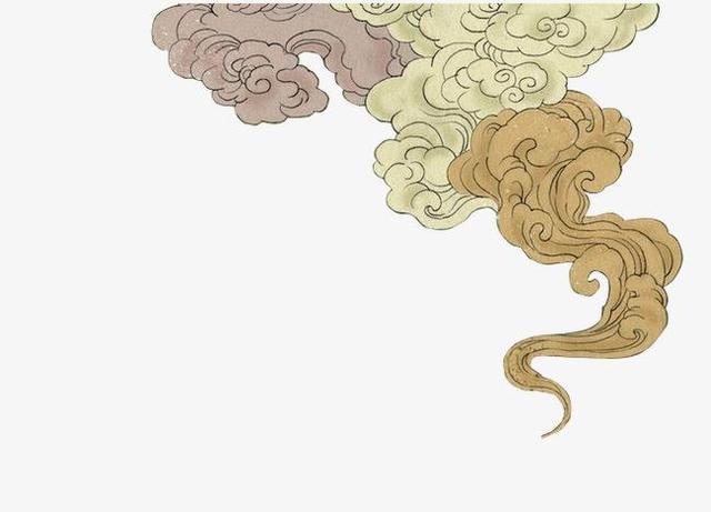 干货!高清云纹白描线稿,艺术生绘画临摹好素材