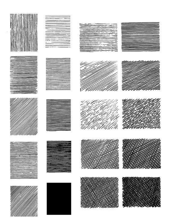 画画必看的排线方法和技巧!
