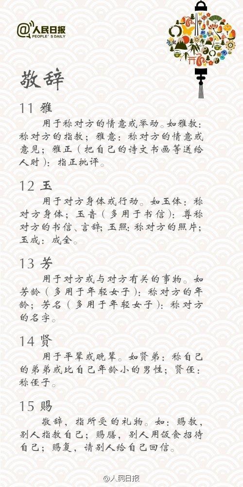 人民日报整理:中国传统说话礼仪大全,开口就看出教养,值得收藏